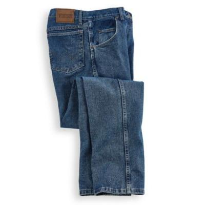 Wrangler Men's Big and Tall Rugged Wear Relaxed Fit Jean ,Antique Indigo,44x32