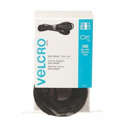 Velcro 91140 Back-to-Back Strap, 8InL x 3/4InW, PK100
