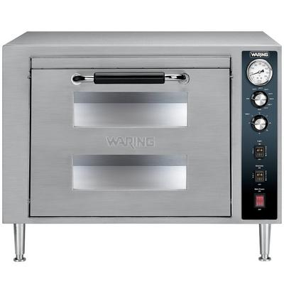 WARING-COMMERCIAL WPO700 Double Deck Countertop Pizza Ove...