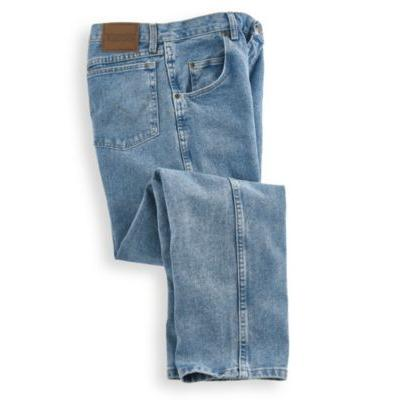 Men's Rugged Wear Relaxed Fit Jeans by Wrangler, Blue Siz...