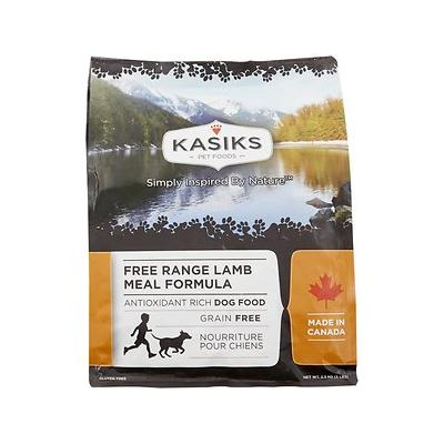 KASIKS Free Range Lamb Meal Formula Grain-Free Dry Dog Food, 5-lb bag