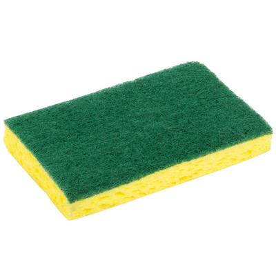 "3M 74CC Scotch-Brite 6 1/8"" x 3 5/8"" Medium-Duty Scrub Sp..."
