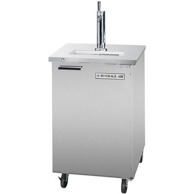 "Beverage-Air DD24-1-S 24"" True Stainless Steel Beer Dispe..."