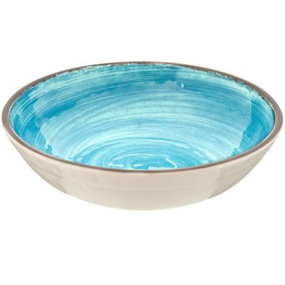 Carlisle 5401915 Mingle 1.11 Qt. Aqua Melamine Cereal Bow...