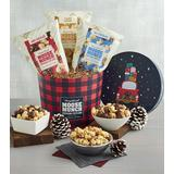 Holiday Moose Munch® Gourmet Popcorn Drum - Gift Baskets & Fruit Baskets - Harry and David