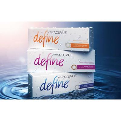 JOHNSON & JOHNSON 1-Day Acuvue Define Accent cosmetic col...