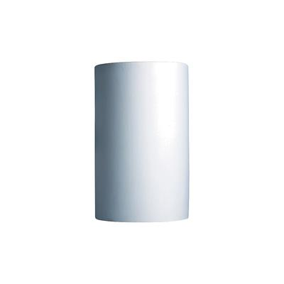 "Justice Design Group Ambiance 12 1/2""H Large Bisque Ceramic Outdoor Wall Light"
