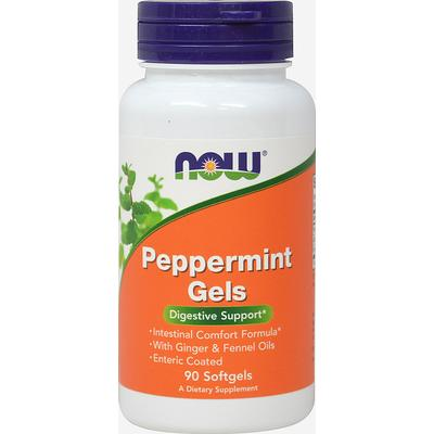 NOW Foods Peppermint Gels -90 Softgels