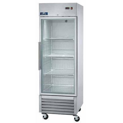 """Arctic Air AGR23 27"""" One Section Glass Door Reach-In Refr..."""