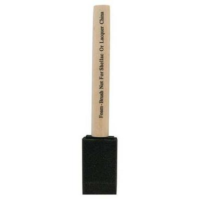 "WOOSTER 3102-1 Foam Brush,Flat Sash,1"" G0467629"