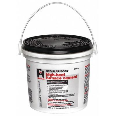Hercules 35515 Furnace/Stove Cement,High Temp.,1/2 gal. G...
