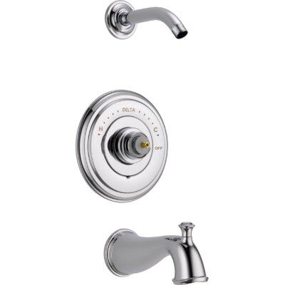 Delta T14497-sslhp-lhd Cassidy Multichoiceâ® 14 Series Tub And Shower Trim