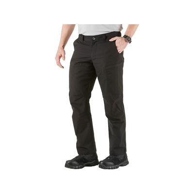 5.11 Men's Apex Tactical Pants with Flex-Tac Ripstop Polyester and Cotton Blend Black 34