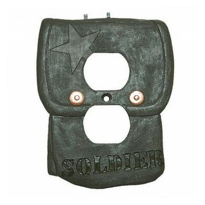 Borders Unlimited Camo Outlet Cover 1869