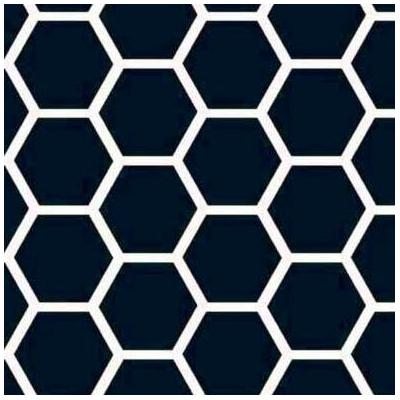 SheetWorld Honeycomb Fabric By The Yard STWD8235 Color: Navy