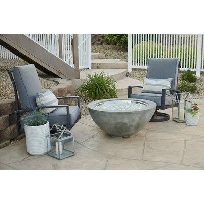 Outdoor GreatRoom Cove Propane Fire Pit Table CV-30