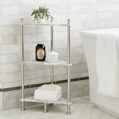 Ballard Designs Marble Corner Shelf