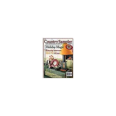 Country Sampler Magazine - 2 year(s) - 12 issues