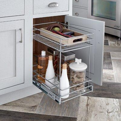 Closetmaid 2 Tier Kitchen Cabinet Pull Out Basket 32104