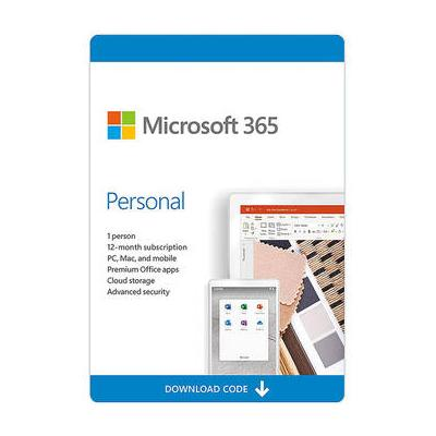 Microsoft Office 365 Personal (1 PC or Mac License / 1-Ye...