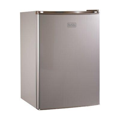 Black + Decker 2.5 cu. ft. Compact Refrigerator with Free...