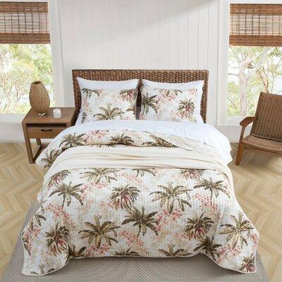 Tommy Bahama Bedding Bonny Cove Reversible Quilt Set by Tommy Bahama Bedding 21934 Size: Twin