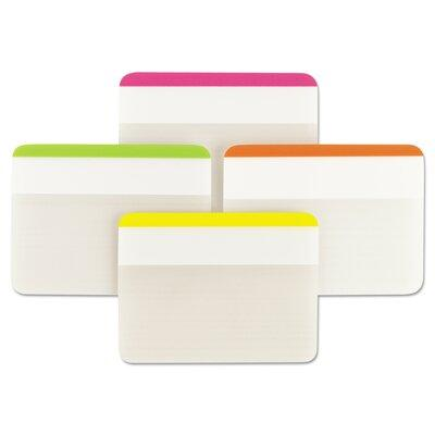 3M Durable tabs, 2w x 1 1/2h, assorted, 24/pack MMM686F1BB
