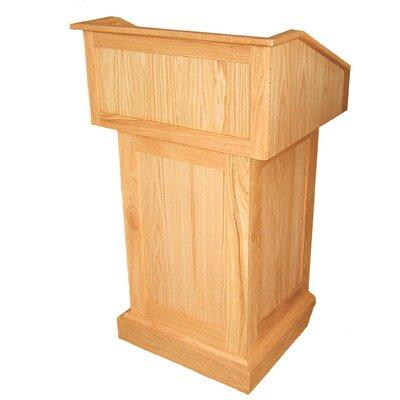 Amplivox Sound Systems Victoria Solid Wood Lectern S Fini...