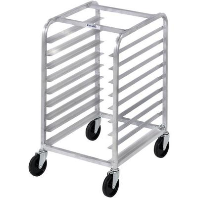 Channel 427A 5 Pan Aluminum End Load Half Height Sheet / Bun Pan Rack - Assembled