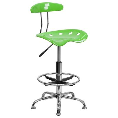 FLASH Furniture LF-215-APPLEGREEN-GG Apple Green Drafting...