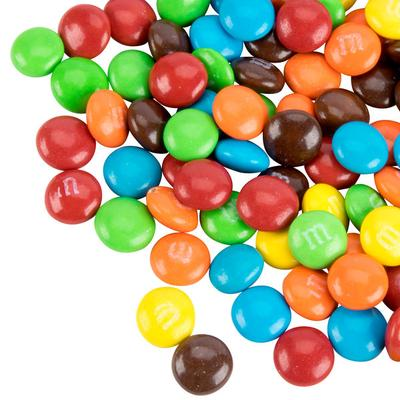 Milk Chocolate M&M's Mini Baking Bits Topping - 5 lb.