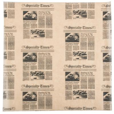 "American Metalcraft PPCN1616 16"" x 16"" Natural Newspaper ..."