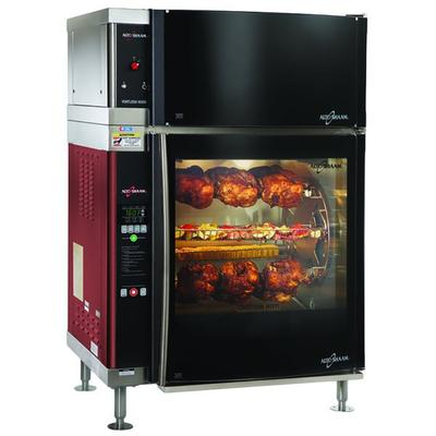 Alto-Shaam AR-7EVH-DBLPANE Double Pane Curved Glass Rotis...