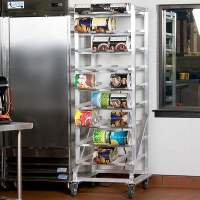 Regency CANRK162M Full Size Mobile Aluminum Can Rack for ...