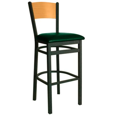 BFM Seating 2150BGNV-NTSB Dale Sand Black Metal Bar Heigh...