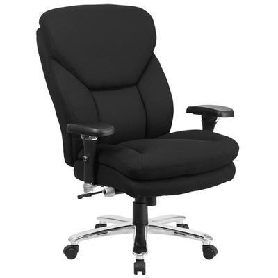 FLASH Furniture GO-2085-GG High-Back Black Fabric Intensi...