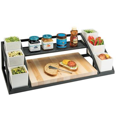 "CAL-MIL 3455 Mission Toast Bar - 28 1/2"" x 12 1/2"" x 9 3/4"""