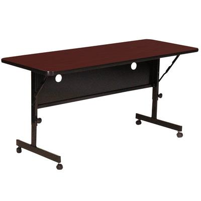 Correll Deluxe Flip Top Table, High Pressure Adjustable H...