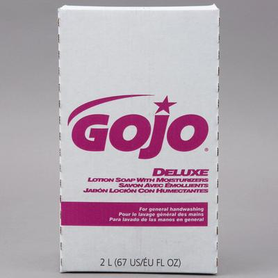 Gojo 2217-04 NXT Deluxe 2000 mL Floral Lotion Hand Soap w...