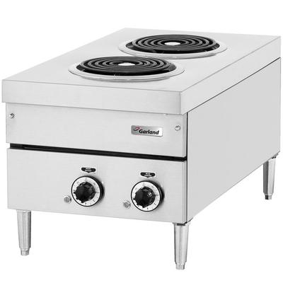 """Garland E24-12H 24"""" Two Burner Heavy-Duty Electric Counte..."""