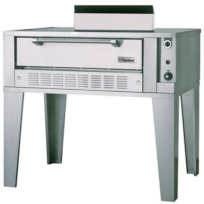 """Garland G2071 Natural Gas 55 1/4"""" Single Deck Pizza Oven ..."""