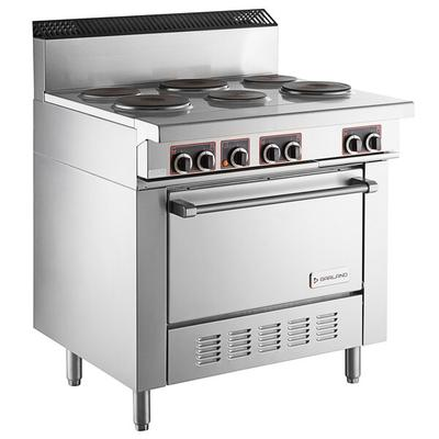 Garland SS686 Sentry Series 6 Sealed Burner Electric Rest...