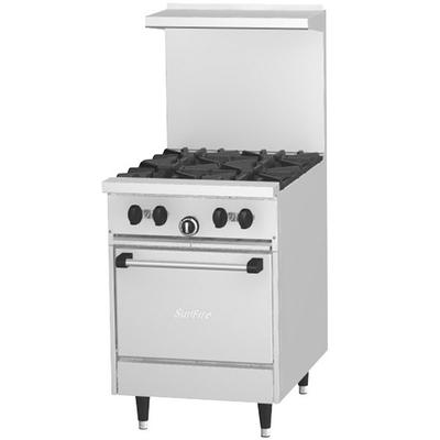 "Garland SunFire Series X24-4L Liquid Propane 4 Burner 24""..."