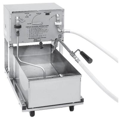 Pitco RP18 75 lb. Portable Fryer Oil Filter Machine with ...