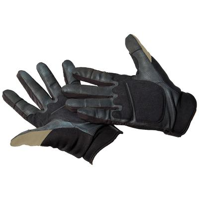 Caldwell Ultimate Shooting Gloves Polyester and Spandex Sand Small/Medium