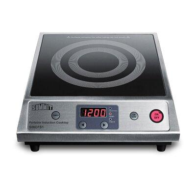 """Summit Summit Portable 13"""" Induction Cooktop with 1 Burne..."""