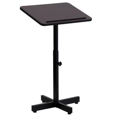 FLASH Furniture XU-LECTERN-ADJ-GG Adjustable Height Metal...