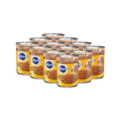 Pedigree Chunky Ground Dinner With Beef, Bacon & Cheese F...