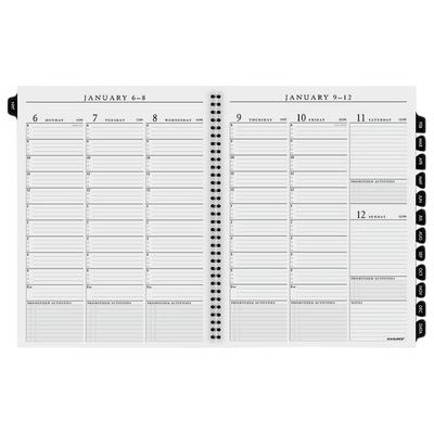 "At A Glance 7091110 8 1/4"" x 10 7/8"" Executive Weekly / M..."