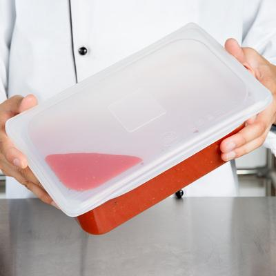 Thunder 1/4 Size Hi-Heat Silicone Flexsil Food Pan Cover